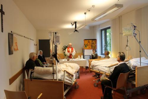 Heilige Messe mit Hospizgästen
