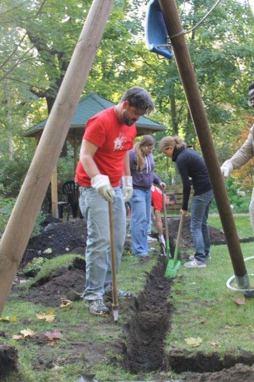 Serve the City - Freiwilligeneinsatz
