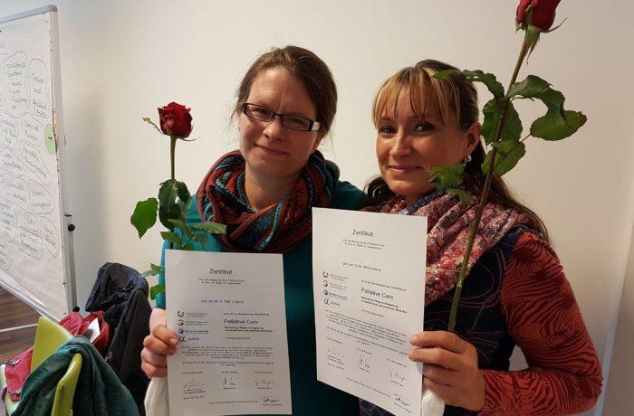 Palliative Care-Kurs abgeschlossen