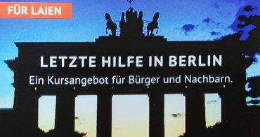 """Letzte Hilfe"""" in Berlin –eine Initiative für Abschiedskultur"""