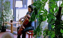 Auf dem Flur: Moritz Ebert